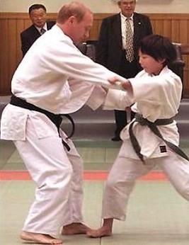 Putin Judo Fight Child