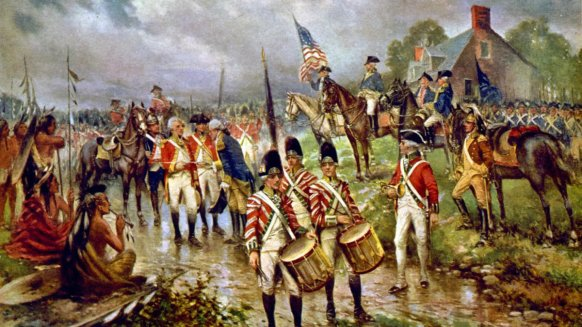 Surrender of Burgoyne at Saratoga