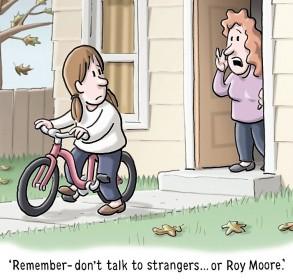 Roy Moore Cartoon