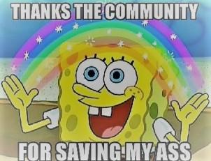 Saving My Ass