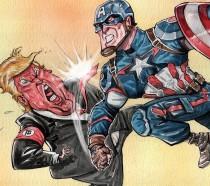 Captain America Trump